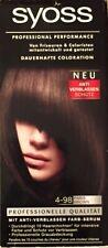 NEW Syoss 4-98 Paris Brown Professional Permanent Hair Color Schwarzkopf Germany
