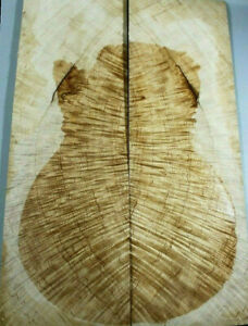 AAAAA Flame Maple Wood explorer guitar top/back set Luthier Supply