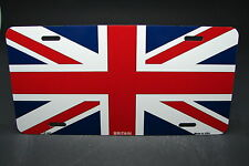BRITAIN FLAG METAL NOVELTY LICENSE PLATE TAG FOR CARS  UNION JACK BRITISH FLAG