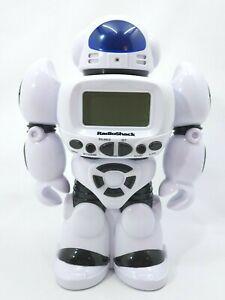 Radio Shack Robot Banker 6300820 - Electronic White & Black Robot Piggy Bank