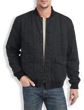 Mens Lucky Brand Seaboard Bomber Jacket Charcoal Black X-LARGE 100% New $149reg!