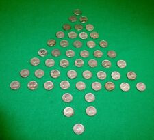 WASHINGTON 90% PERCENT SILVER QUARTERS - LOT OF 50 - 1932-1964 survival money