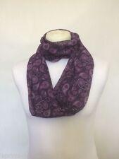 Écharpes et châles violet avec des motifs Cachemire pour femme