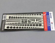 ZLQGD851 1Pc Stainless Steel Modeling Tools Scribing Panel Rivet Template New