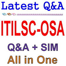 ITIL Service Capability Operational Support & Analys ITILSC-OSA Exam Q&A PDF+SIM