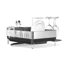 Simplehuman Dish Rack Stainless Steel Frame Dish Drying Rack Dish Trainer Tray