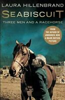 Very Good, Seabiscuit: Three Men and a Racehorse, Hillenbrand, Laura, Paperback