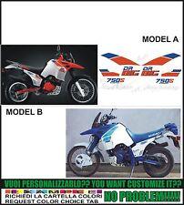 kit adesivi stickers compatibili dr big 750 s 1988 1989