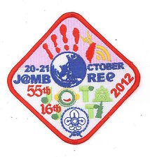 2012 SCOUTS OF CHINA (TAIWAN) - Jamboree On the Air & Internet JOTA JOTI Patch 2