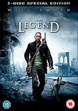 I Am Legend (DVD, 2008, 2-Disc Set) Special Edition