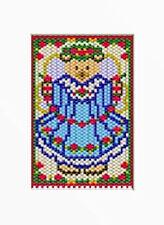 Christmas Angel Bear Beaded Banner Pattern