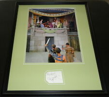 Nina Foch Signed Framed 16x20 Poster Photo Display Spartacus