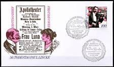 BRD 1996: Paul Lincke! FDC der Nr. 1876 mit Berliner Ersttagsstempeln! 1A! 1712