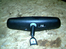 OEM 01 Chrysler Concorde Black Interior Rear View Mirror w/Auto Dimmer Switches