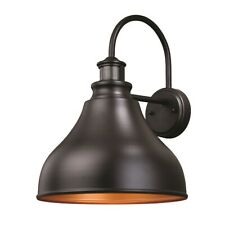 Vaxcel Delano Dualux 13' Outdoor Wall Light, Oil Burnished Bronze - T0258