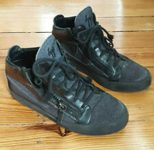 Guissepi Zanotti charcoal zip sneakers! Sz 43/10. Must Have