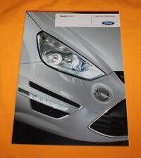 Ford S-Max 2010 Prospekt Brochure Catalogue Depliant Prospetto Prospecto