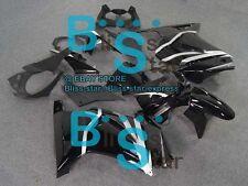 Black Injection Fairings Bodywork Kit Kawasaki Ninja 250R EX250 08-12 6 A3