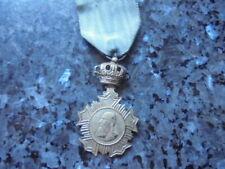 belle medaille  d'honneur congo  belge veteran leopold 2