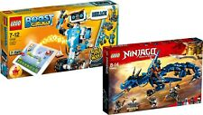 LEGO BOOST 17101 + LEGO Ninjago 70652 Blitzdrache SET NEU
