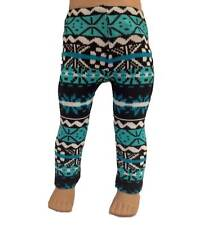 Doll Clothes Leggings Aqua Alpine Print fits 18 inch American Girl