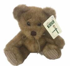 "First & Main Minky Bear 7"" Plush Stuffed Animal toy"