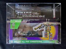 1986 Transformers AFA Combaticon Onslaught Leader Sealed MISB MIB BOX