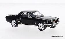 Ford Mustang mustero 1966 negro 1:43 Ixo premium X