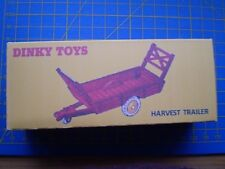 DINKY TOY REPRO BOX ONLY FOR NO 320/27B HARVEST TRAILER