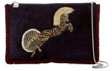 Steve Madden Purple Pegasus Crossbody Shoulder Bag Sequins Zip Closure