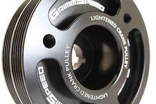 GrimmSpeed 095015BK Lightweight Crank Pulley for Subaru EJ Engines (Black)