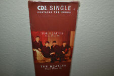 BEATLES RARE SEALED LONGBOX CD PLEASE PLEASE ME / ASK ME WHY 2-SONG SINGLE DISC