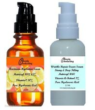 30% Vitamin C + 3% Retinol-Vitamin A / Hyaluronic Acid,45% Matrixyl 3000 in both