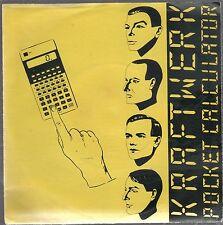"""KRAFTWERK POCKET CALCULATOR / DENTAKU 7"""" 45 GIRI"""