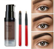 6 Colors Henna Eyebrow Gel Waterproof Tint Makeup Set Brown Enhancer Eye