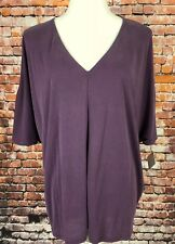 HALOGEN Nordstrom Cold Shoulder Top Mauve Women's Size Large Nwt