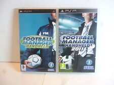 Sony PSP Game Football Manager 2011 Sony PSP and Football Manager Handheld