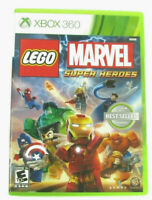 Lego Marvel Super Heroes For Xbox 360 Very Good *Tested* Works!