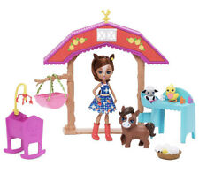 Enchantimals Barnyard Nursery Playset With Haydie Horse Doll (6-Inch), Trotter H