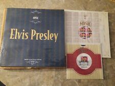 Elvis USPS First Day Of Issue Commemorative Edition Stamp Album Set