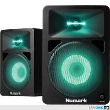 Numark N-Wave 580L Powered Desktop DJ/Studio Monitors with LED Lights