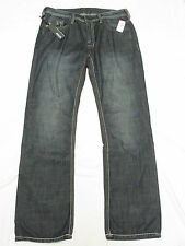 $109 NWT NEW Mens Buffalo David Bitton Jeans Driven Straight Denim 32x30 32 M825