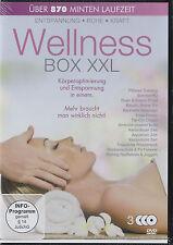 Wellness Box XXL - 3 DVDs - Das komplette Programm für die Frau von heute!