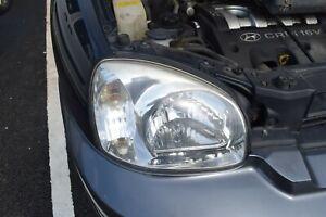 2005 HYUNDAI SANTA FE MK1 DRIVERS SIDE RIGHT HEADLIGHT