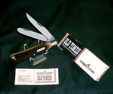 Schrade 96OT Trapper Knife & Field Tools Pic,Tweezer W/Original Box & Paperwork