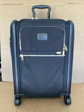 TUMI ALPHA 3 CONTINENTAL 4 WHEEL SPINNER CARRY ON SUITCASE 2203561 BLACK GOLD