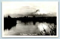 WASHINGTON MT RAINIER 'THE SENTINEL' ELLIS PHOTO RPPC - #961