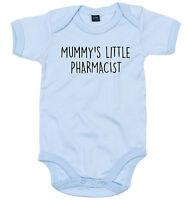 PHARMACIST BODY SUIT PERSONALISED MUMMY'S LITTLE BABY GROW NEWBORN GIFT