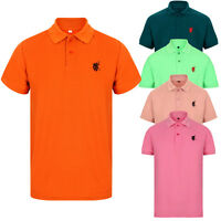 POLO SHIRT MENS SHORT SLEEVE SHIRTS DESIGNER PLAIN T-SHIRT TEE