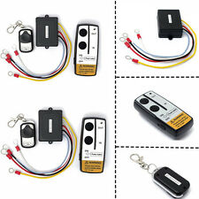 2pc 12V Wireless Winch Remote Control Key Receiver Switch Kit For Truck ATV SUV